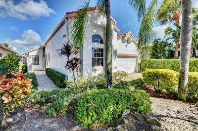 Boynton Beach Single Family Home For Sale: 11837 Fountainside Circle