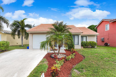Boynton Beach Single Family Home For Sale: 6428 Country Fair Circle