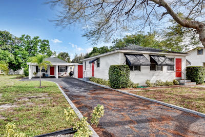 Lantana Multi Family Home For Sale: 614 7th Street