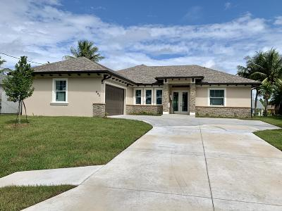 Port Saint Lucie Single Family Home For Sale: 693 Whitmore Drive