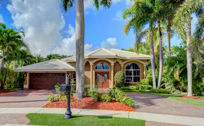 Boca Raton Single Family Home For Sale: 19953 Dinner Key Drive
