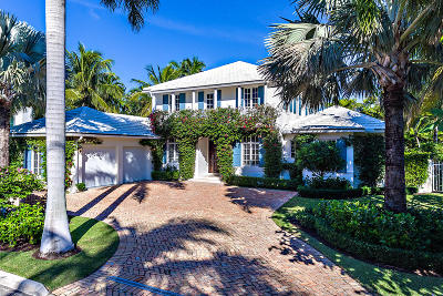 Palm Beach FL Single Family Home For Sale: $5,500,000