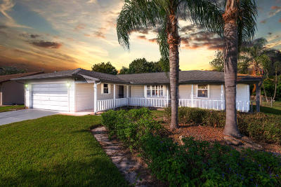 Fort Pierce Single Family Home For Sale: 6101 Spruce Drive