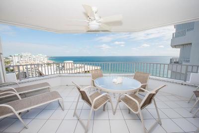 Pompano Beach Condo For Sale: 1340 S Ocean Boulevard #1705