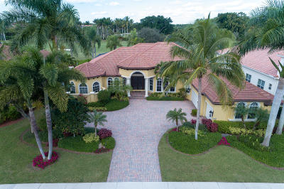 West Palm Beach Single Family Home For Sale: 7517 Hawks Landing Drive
