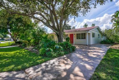 Palm Beach Gardens Single Family Home For Sale: 611 Riverside Drive