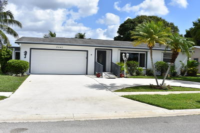 Delray Beach Single Family Home For Sale: 6447 Sagewood Way