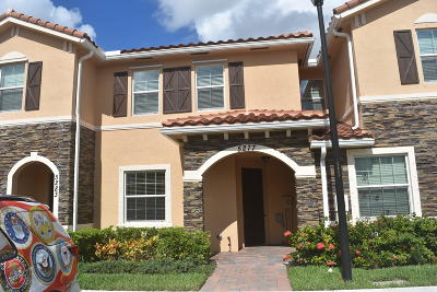West Palm Beach Townhouse For Sale: 5277 Ashley River Road #5277