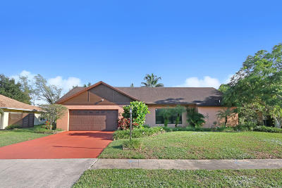 Lake Worth Single Family Home For Sale: 8055 Marshwood Lane