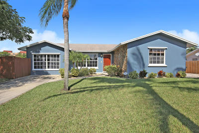 Delray Beach Single Family Home For Sale: 803 Mallard Drive