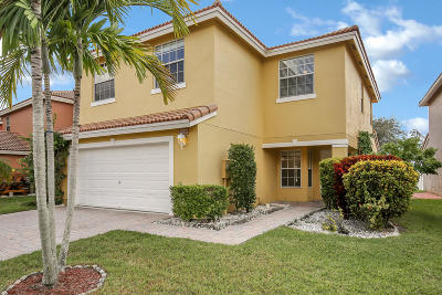 West Palm Beach Single Family Home For Sale: 3338 Turtle Cove