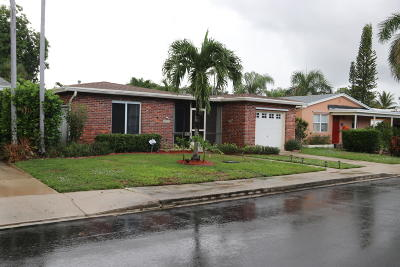 Lake Worth Single Family Home For Sale: 1617 L Street