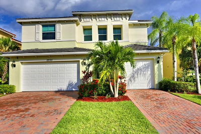 Royal Palm Beach Single Family Home For Sale: 2953 Bellarosa Circle