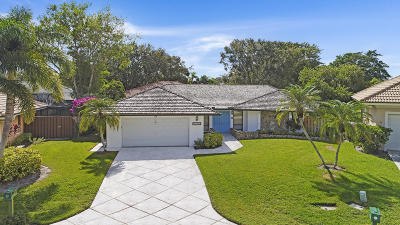 Palm Beach Gardens Single Family Home For Sale: 8 Bentwood Road