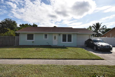 Lake Worth Single Family Home For Sale: 4633 Poseidon Place