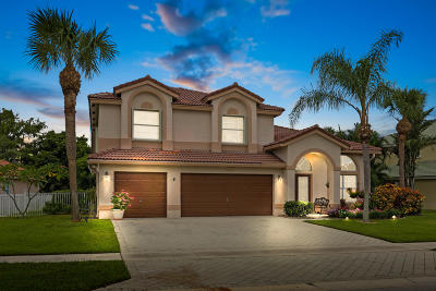 Wellington Single Family Home For Sale: 3722 Moon Bay Circle