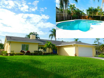 Port Saint Lucie FL Single Family Home Sold: $293,550