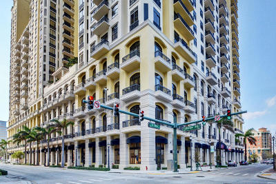 West Palm Beach Rental For Rent: 701 S Olive Avenue #911