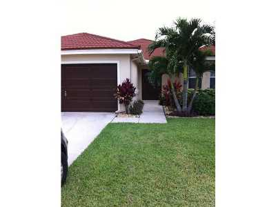 Boynton Beach Rental For Rent: 8548 Tourmaline Boulevard