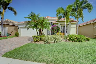 Lake Worth Single Family Home For Sale: 6724 Via Bellini