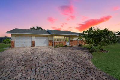 Port Saint Lucie Single Family Home For Sale: 1511 SE Portillo Road