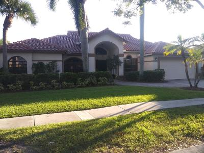 Boca Raton FL Single Family Home For Sale: $498,200