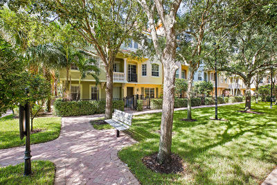 Palm Beach Gardens Townhouse For Sale: 2731 Ravella Way