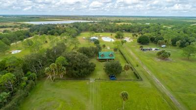 Fort Pierce Single Family Home For Sale: 21180 Glades Cut Off Road