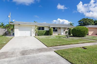 Palm Beach Gardens Single Family Home For Sale: 3143 Capri Road