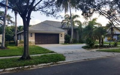 Boca Raton FL Single Family Home For Sale: $446,300