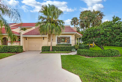 Palm Beach Gardens Single Family Home Contingent: 824 Windermere Way