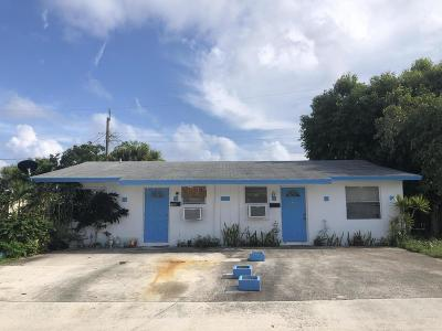 Lake Worth Multi Family Home For Sale: 709 Latona Avenue