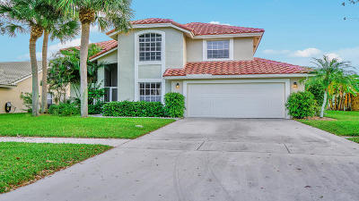Lake Worth Single Family Home For Sale: 6712 Hatteras Drive