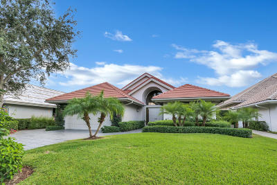 Palm Beach Gardens Single Family Home For Sale: 13645 Rivoli Drive