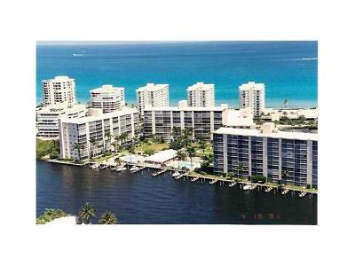 Highland Beach Condo For Sale: 3300 S Ocean Boulevard #223c