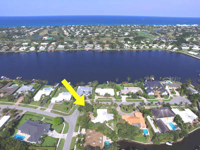 North Palm Beach Single Family Home For Sale: 11721 Lake Shore Place
