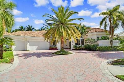 Palm Beach Gardens Single Family Home For Sale: 63 St George Place