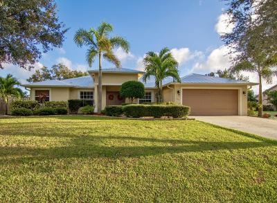 Port Saint Lucie Single Family Home For Sale: 722 SW General Patton Terrace