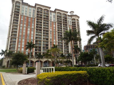 West Palm Beach Condo For Sale: 550 Okeechobee Boulevard #1405