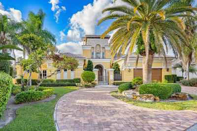 Boca Raton FL Single Family Home For Sale: $3,200,000