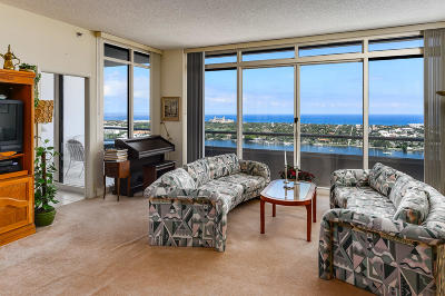 West Palm Beach Condo For Sale: 529 S Flagler Drive #Ph1g