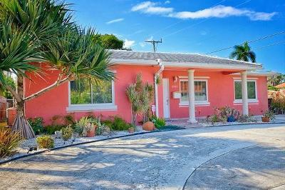 West Palm Beach Single Family Home For Sale: 5011 S Olive Avenue
