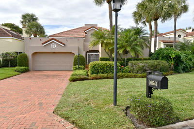 Jupiter Single Family Home For Sale: 16641 Narrows Drive
