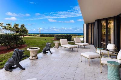 Palm Beach Condo For Sale: 3100 S Ocean Boulevard #105