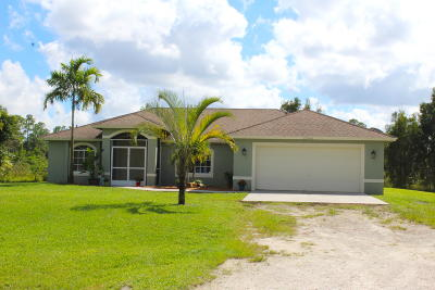 West Palm Beach Rental For Rent: 13590 76th Road