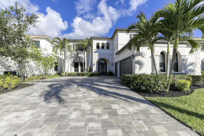 Boca Raton FL Single Family Home For Sale: $1,080,000