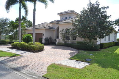 Port Saint Lucie Single Family Home For Sale: 191 SE Bella Strano