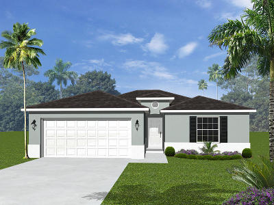 Port Saint Lucie Single Family Home For Sale: 6460 NW Foxglove Street