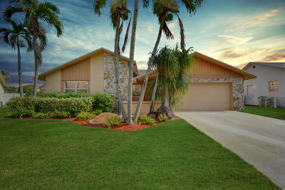 Boca Raton FL Single Family Home For Sale: $365,000