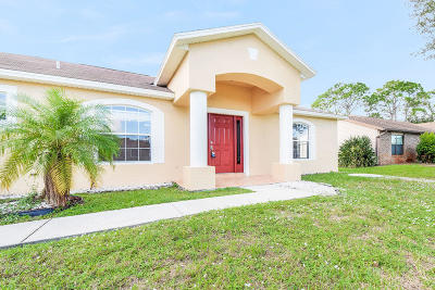 Port Saint Lucie Single Family Home For Sale: 2742 SW Somber Road